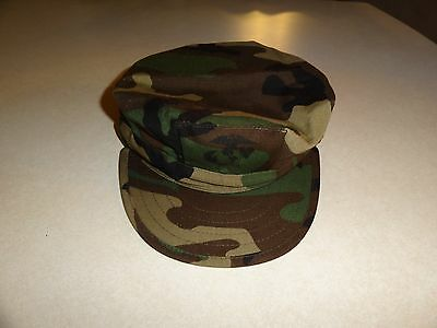 Usgi Issue Military Us Marine Corps Type 1 Utility Bdu Cap Hat With Usmc Logo