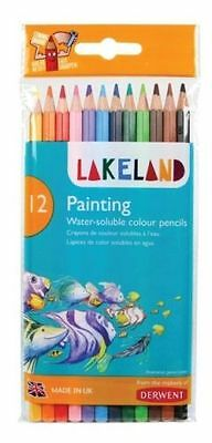 Derwent  Watercolour pencils Lakeland Painting Pencils