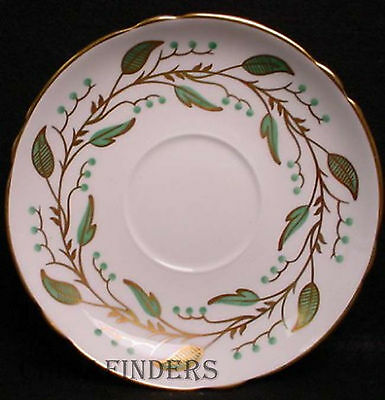 """SHELLEY china LAUREL pattern Cream Soup Saucer ONLY @ 6 3/8"""""""