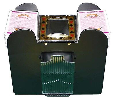 NEW Automatic Playing Card Shuffler 1- 6 Decks NEW Easy Shuffling Casino Games *
