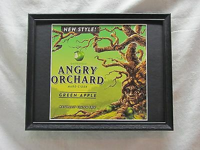 Angry Orchard Green Apple  Beer Sign  #978