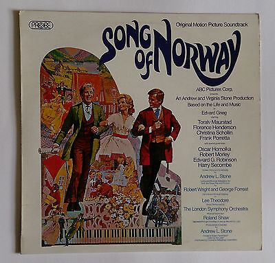 Song of Norway OST Roland Shaw LSO LP Excellent Condition