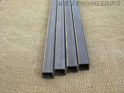 Mild Steel Box Section 25mm x 25mm x 2mm - 1000mm lg - 4 Pack -  Square Tube