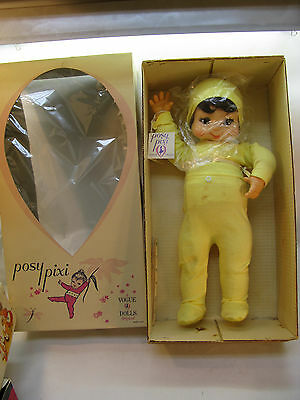 VINTAGE VOGUE DOLL POSY PIXI PIXIE 17in BENDABLE POSING WITH BOX & TAG RARE