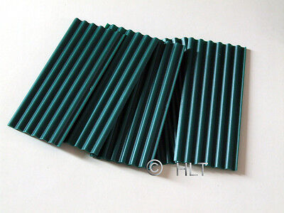 JUWEELA 1:32/1:35 30x GREEN CORRUGATED ROOFING SHEETS 23257 MILITARY WARGAMING