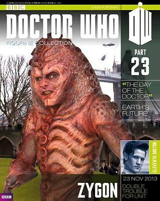 Doctor Who Figurine Collection Issue 23 Zygon Factory Sealed Part & Mag