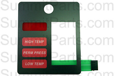 Touch Pad For Adc530 Stack Dryer, Red - 112565