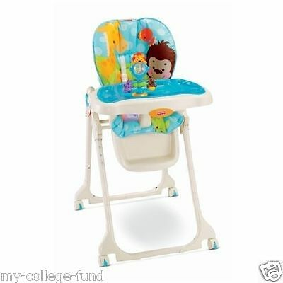 FISHER PRICE PRECIOUS PLANET HEALTHY CARE HIGH CHAIR NEW