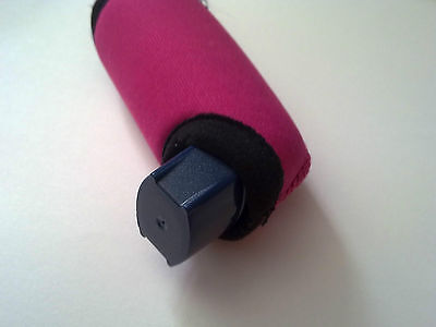 Mitzy Pink Asthma personal inhaler ventolin/ Asmol puffer insulating cover New