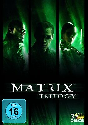 Matrix Trilogie * NEU OVP * 3 DVDs * (Teil 1+2+3, Trilogy)