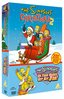 The Simpsons: Christmas With the Simpsons 2/On Your Marks, Get... DVD (2004)