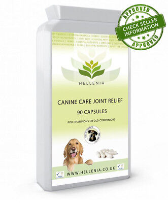 Hellenia Vets Choice Celadrin® 500mg - Canine Care Joint Relief Capsules (90)