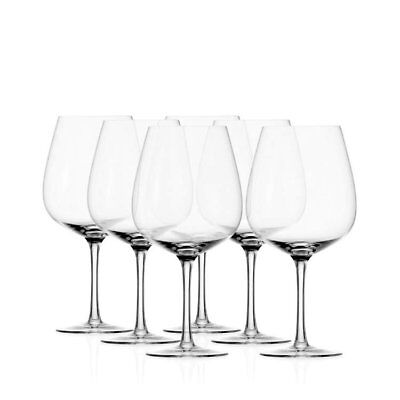 NEW Stolzle Grandezza Burgundy Wine Glass 735mL Set of 6 (RRP $90)