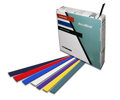 "Standard AccuBind Strips Size E (1-9/16"") Red"
