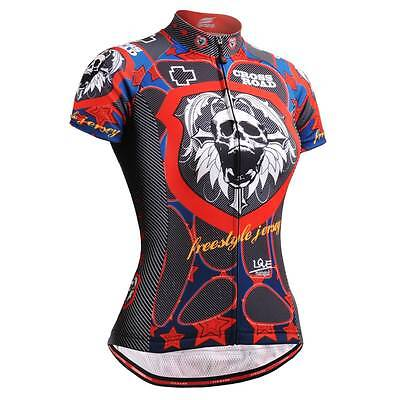 FIXGEAR CS-W1402-SET Women/'s Cycling Jersey /& Padded Shorts MTB BMX Roadbike