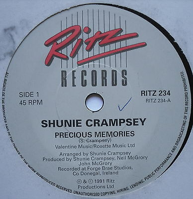 "SHUNIE CRAMPSEY - Precious Memories - Excellent Con 7"" Single Ritz RITZ 234"