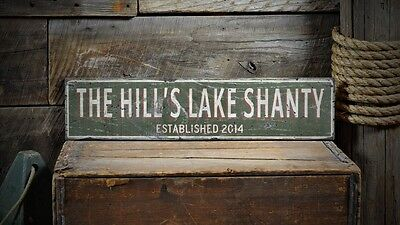 Rustic Hand Made Vintage Wooden Sign ENS1000377 Sign Custom Wine /& Spirits Co