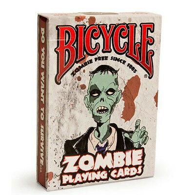 1 Deck Bicycle Zombies Standard Poker Playing Cards Sealed New In Box