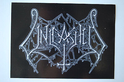 Unleashed Sticker Decal (362) Metal Napalm Death Dissection Slayer