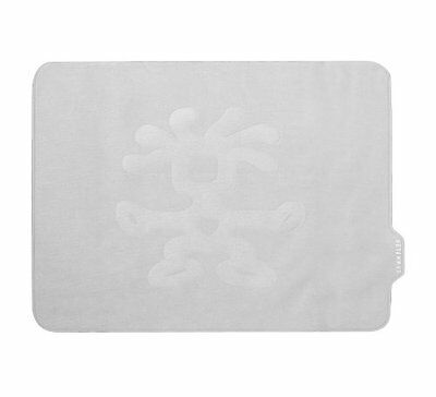 """Crumpler Slip 10"""" Wide Notebook Screen Protector and Mouse Mat Silver"""
