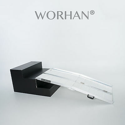WORHAN®  153cm Mobility Scooter Wheelchair Ramp 5ft Folding Access Disabled R5