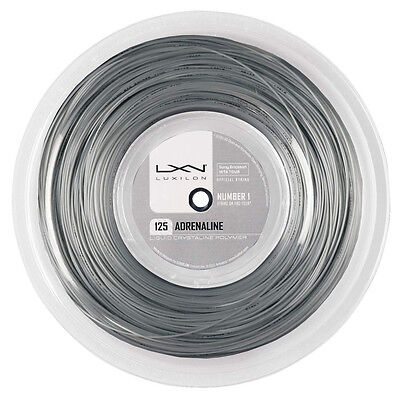 Luxilon Adrenaline 1.25mm 16L Tennis Strings 200M Reel