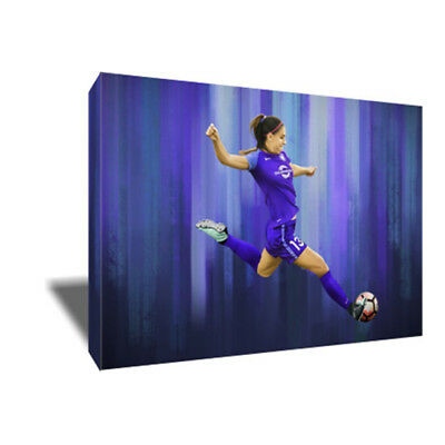 Orlando Pride Star ALEX MORGAN Poster Photo Painting Artwork on CANVAS Wall Art