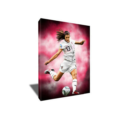 USWNT World Cup Star ALEX MORGAN Poster Photo Painting Artwork CANVAS Wall Art