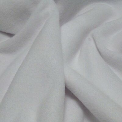 White Fleece Blankets 2 sizes Double or Single Thickness GCCF Cat Show Pen Sizes