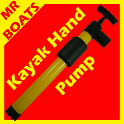 KAYAK / CANOE / BOAT HAND BILGE PUMP Easy to use High Volume PORTABLE MANUAL NEW
