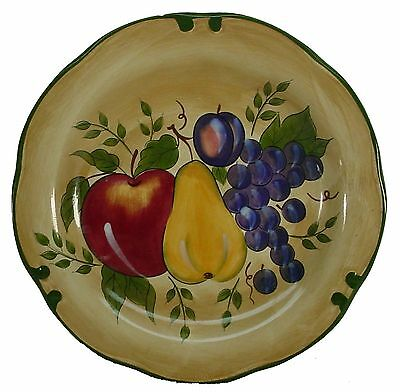 HOME TRENDS china GRANADA pattern DINNER PLATE 11""