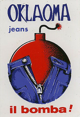 Original Sticker: Oklaoma Jeans