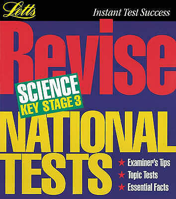Letts Revision: Revise National Tests Science Key Stage 3, Mcduell, Bob, New Boo
