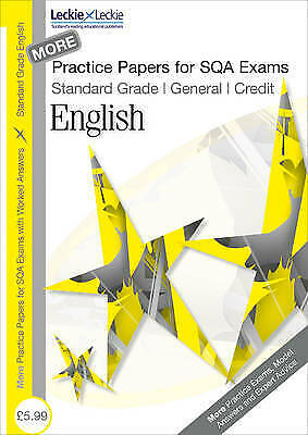 Practice Papers for SQA Exams - More General/Credit English Practice Papers for