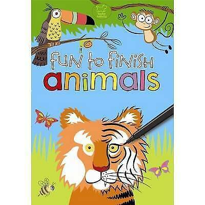 Fun to Finish Animals (Gift), New, Authors, Various Book