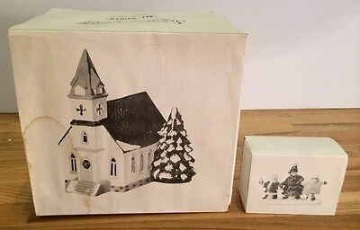 Dept 56 Snow Village All Saints We'ee Going To A Christmas Pageant Decor