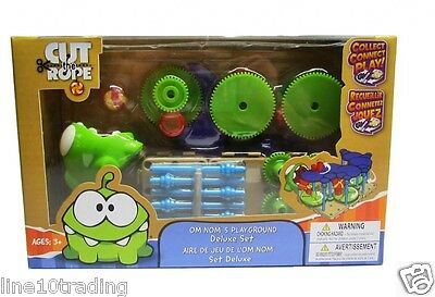 Cut The Rope OM Nom's Playground DELUXE Play set - Official license Building Toy