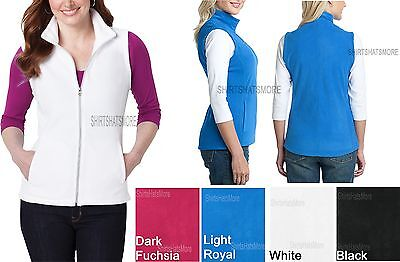 Ladies Vest CoreWarm Micro Polar Fleece Warm with Pockets Womens Sizes XS-4XL