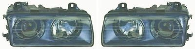BMW 3 Series E36 Coupe 1994-2000 Headlight Headlamp Pair Left & Right
