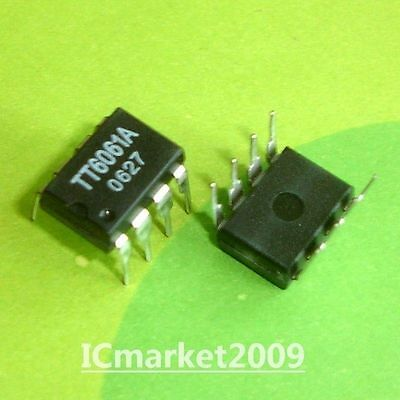 5 x TT6061A DIP-8 3 Steps Touch Dimmer IC