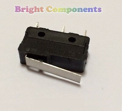 V4 Miniature Short Lever Microswitch (Micro Switch) - 1st CLASS POST