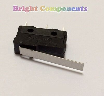 V4 Miniature Medium Lever Microswitch (Micro Switch) - 1st CLASS POST