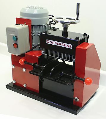 """Copper Wire Stripping Machine Large Cables Up to 3-1/2"""" Copper Wire Stripper"""