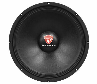"Rockville RVP15W8 1000 Watt 15"" Raw DJ Subwoofer 8 Ohm Sub Woofer 51OZ Magnet"