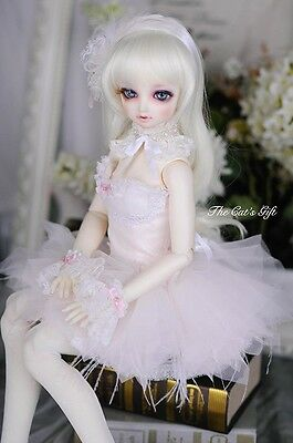 [Cat's Gift] LIMITED pink ballet outfit/skirt bjd SD 1/3 girl doll use