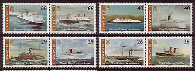 Isle Of Man 2005 Anniversary Of Steam Packet Company  Unmounted Mint, Mnh