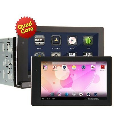 "Newest Ouku Android 4.2 7""2Din In-Dash Car DVD Stereo Player WiFi 3G GPS+Tablet"