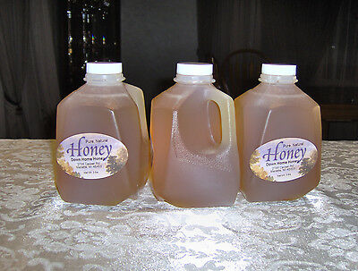 100% Raw Pure Natural Clover Honey (9 Lbs) Nutritional (Down Home Honey)