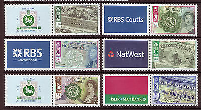 Isle Of Man 2008, Bank Notes Of The Isle Of Man Unmounted Mint