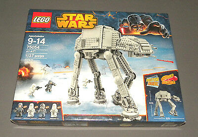 LEGO AT-AT Star Wars Set 75054 Imperial Walker w Driver, General Veers NEW